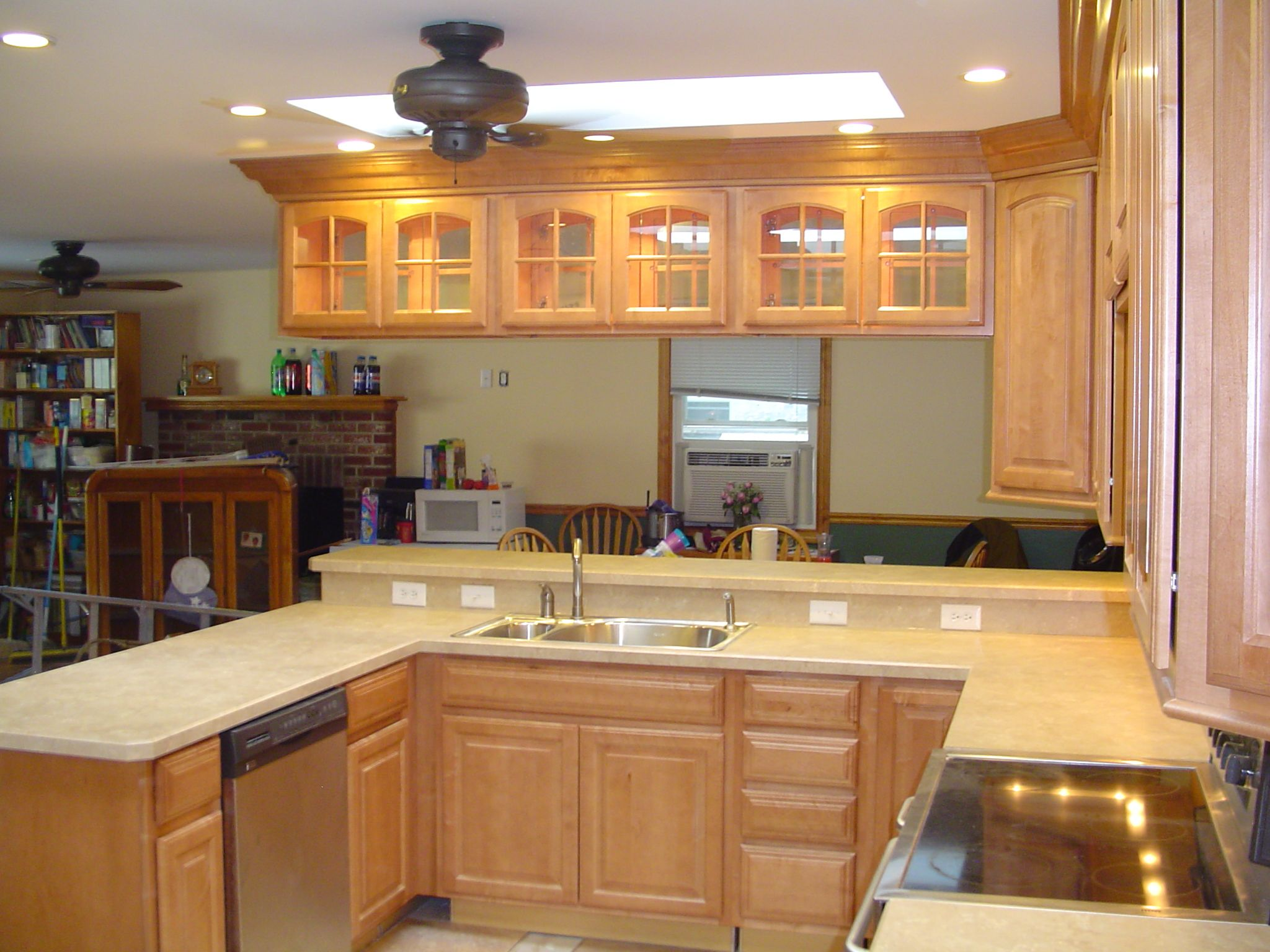 Xraised ranch remodeling raised ranch kitchen after for Kitchen remodel raised ranch