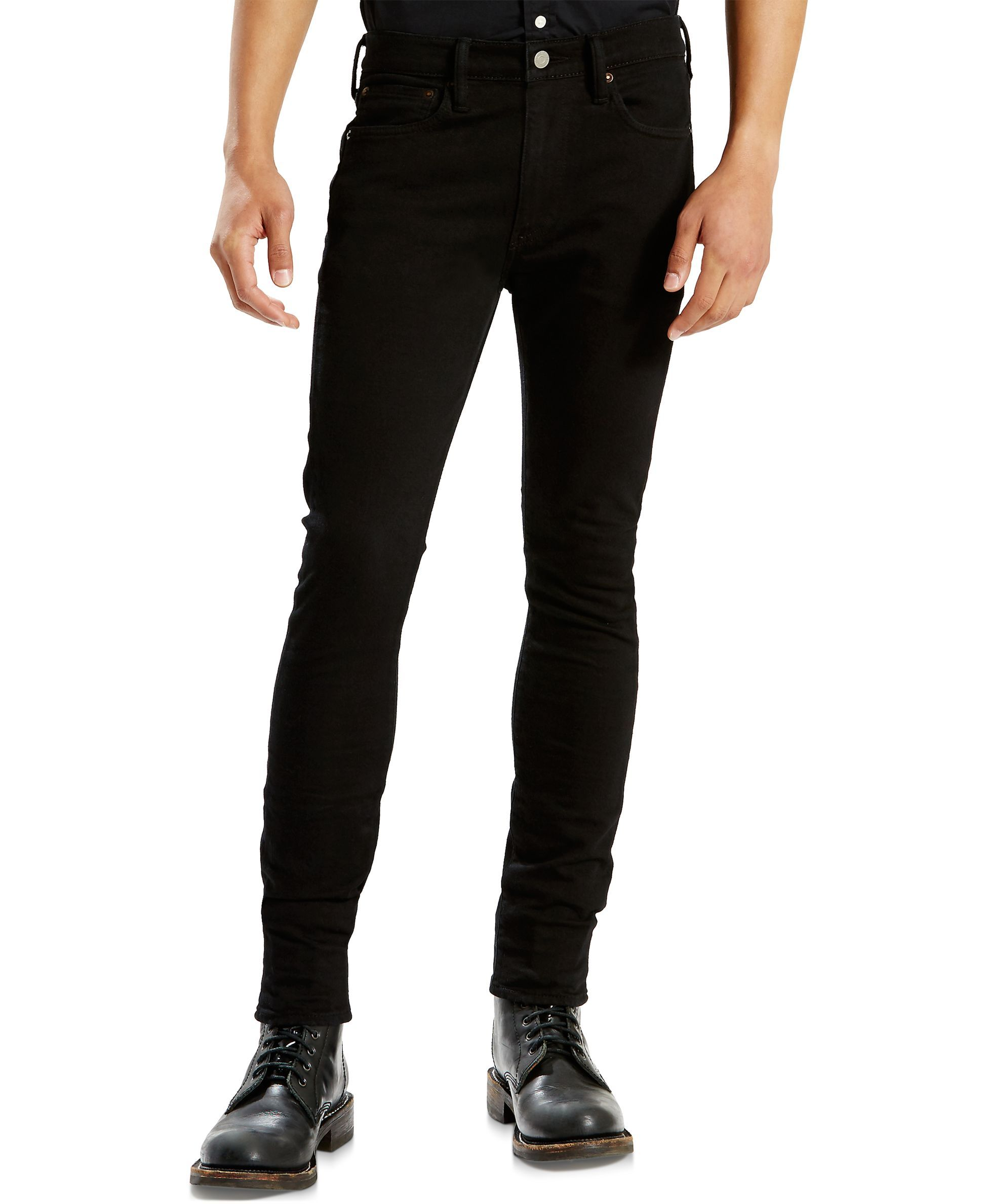 724e320bf5d Levi's Men's 519 Extreme Skinny-Fit Darkness Jeans | Men's Fashion ...