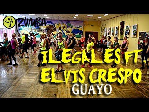 zumba ilegales ft elvis crespo  guayo  youtube  vague