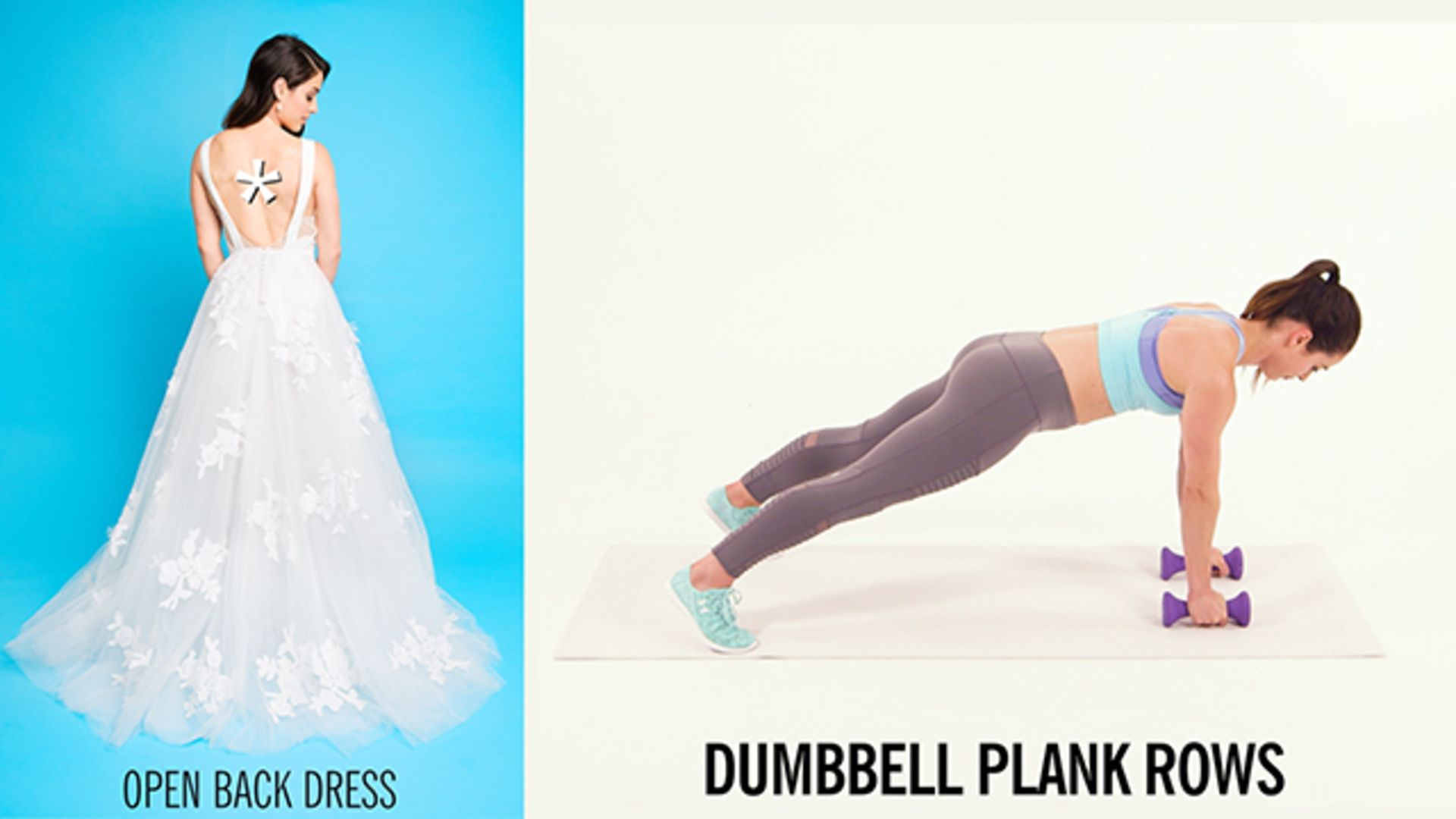6 Exercises For Wedding Dress Target Areas: Whether You're