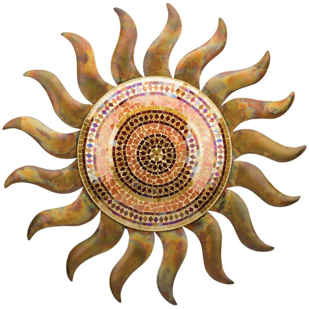 29 Flamed Copper Sun Wall Decor In 2020 Sun Wall Decor Metal Sun Wall Art Art Gift