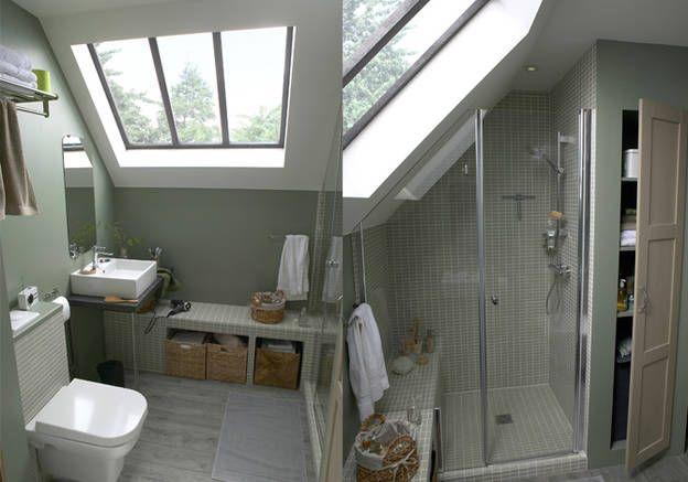 5 idées d\u0027aménagement pour une petite salle de bains Attic