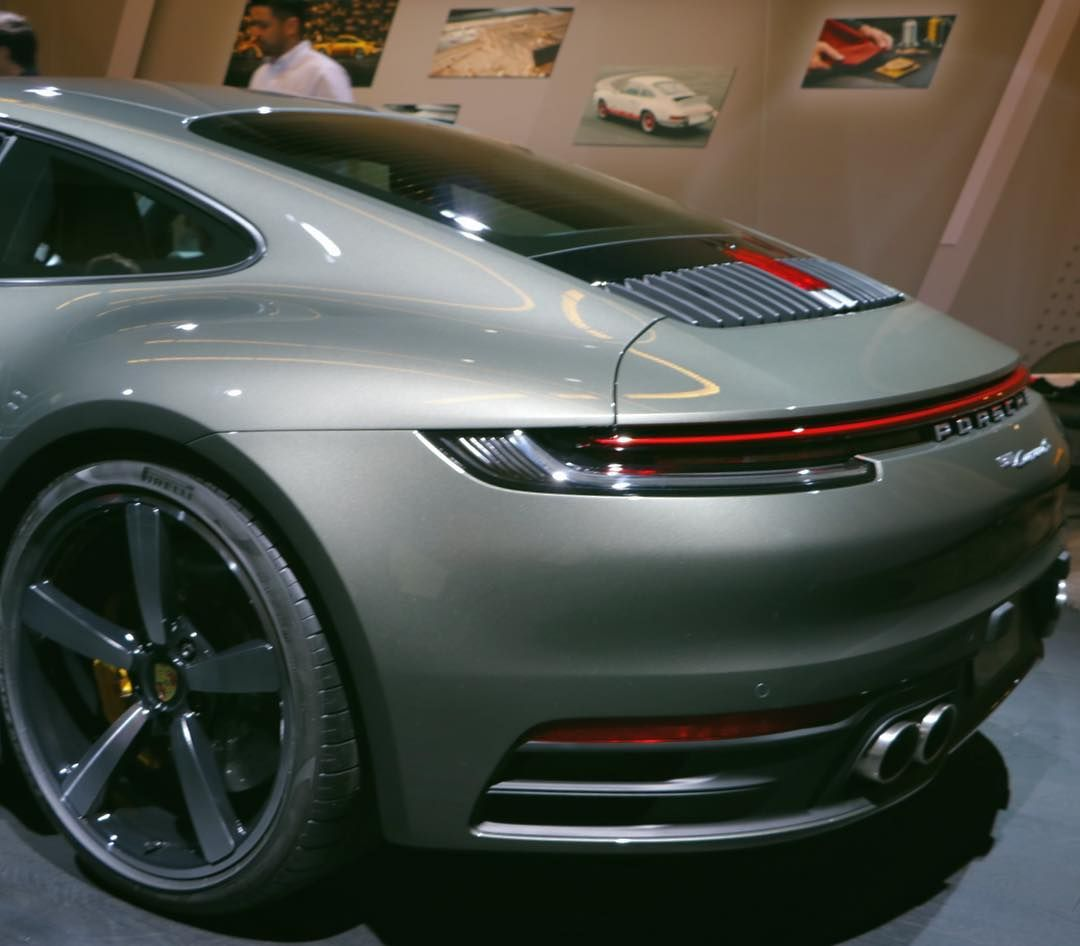 New 992 In Aventurine Green It Looks More Gray Than The Classic