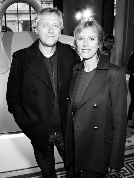 Laurent Machuel et Karin Viard