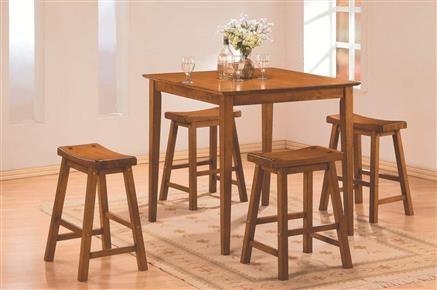 2 Home Elegance Saddleback Oak Solid Seat Stools Decoracao