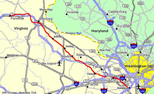 Dc Bike Paths Map on