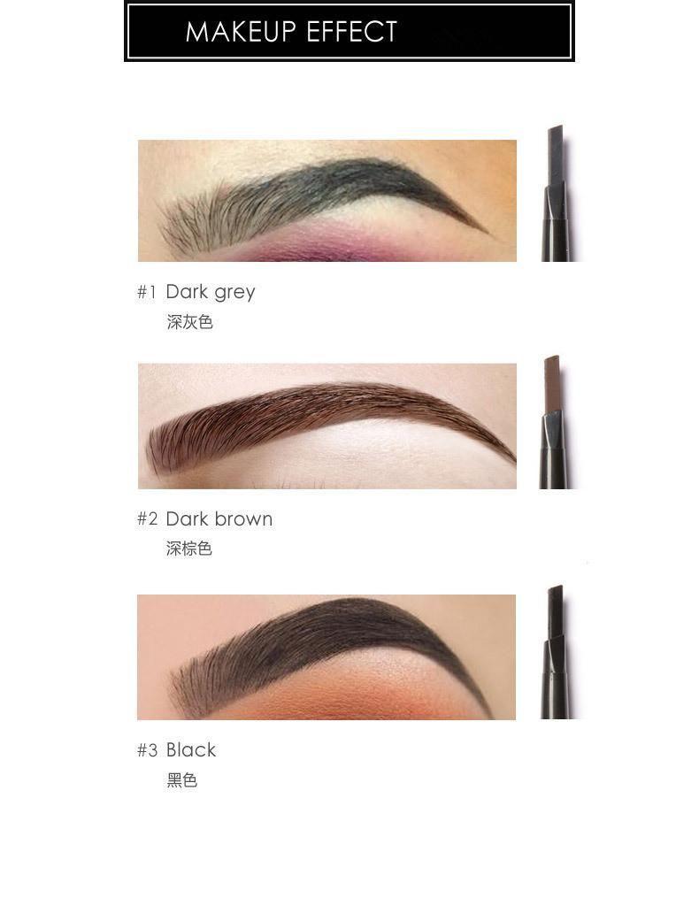 Focallure Eyebrow Pen Pencil With Brush Waterproof Makeup Cosmetic
