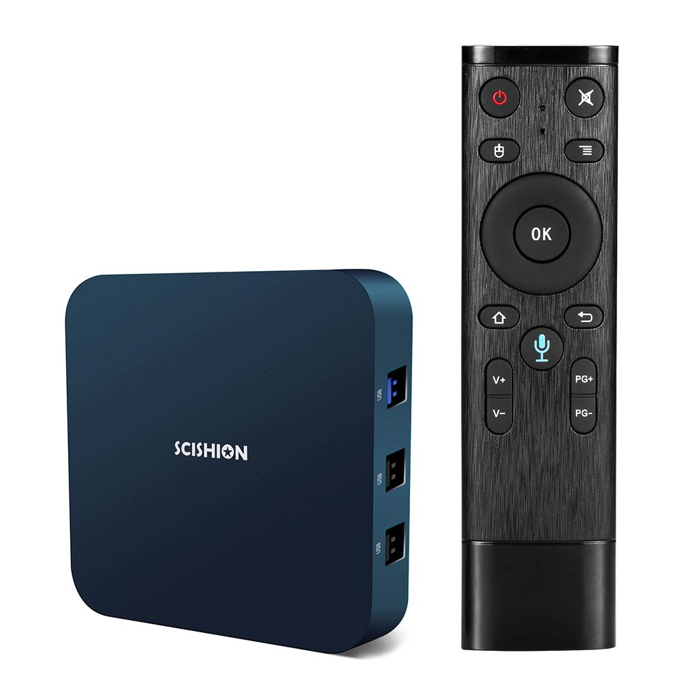 SCISHION AI ONE Android TV Box android 8.1 4K 2G/16G WiFi