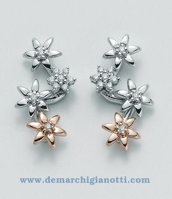 Orecchini Miluna Rugia- erd1014br - Orecchini pietre preziose - Gioielli con diamanti e/o pietre preziose - Prodotti