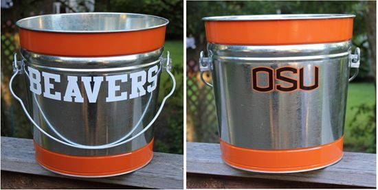 Ice Bucket for Tailgating (College Football)