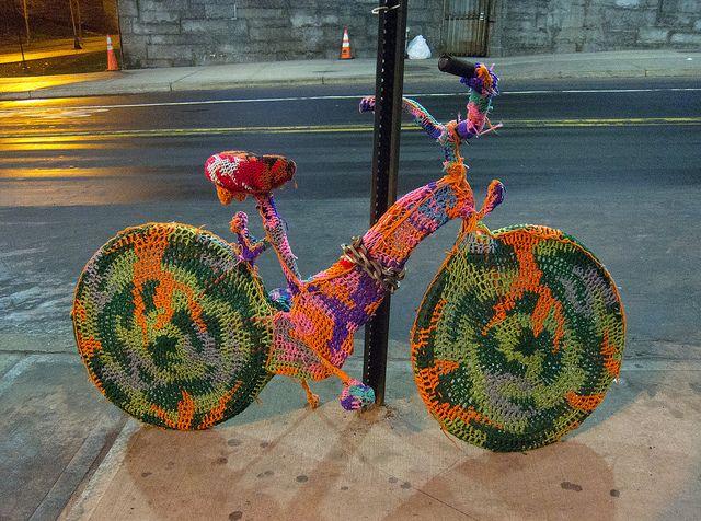 Crocheted Bike