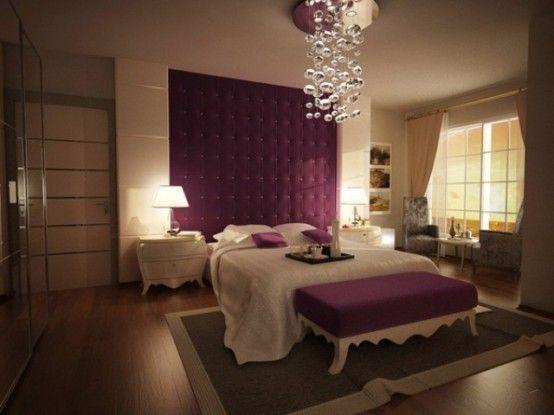 Purple Accents In Bedroom Digsdigs Bedroom Decor Purple Bedroom Design Bedroom Design Purple minimalist room design view