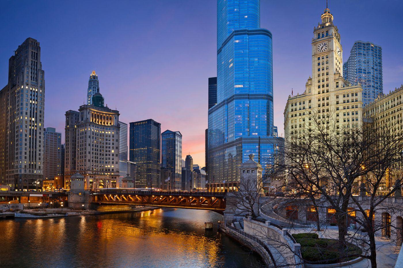 vista más bonita de #Chicago - la tercera ciudad más poblada de los Estados Unidos, después de Nueva York y Los Angeles.
