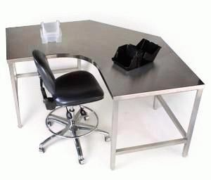Great Stainless Steel Desk   Google Search