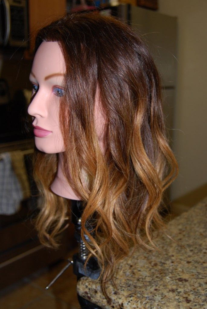 Blending Beautiful How To Create Ombre Hair Color I Tried It