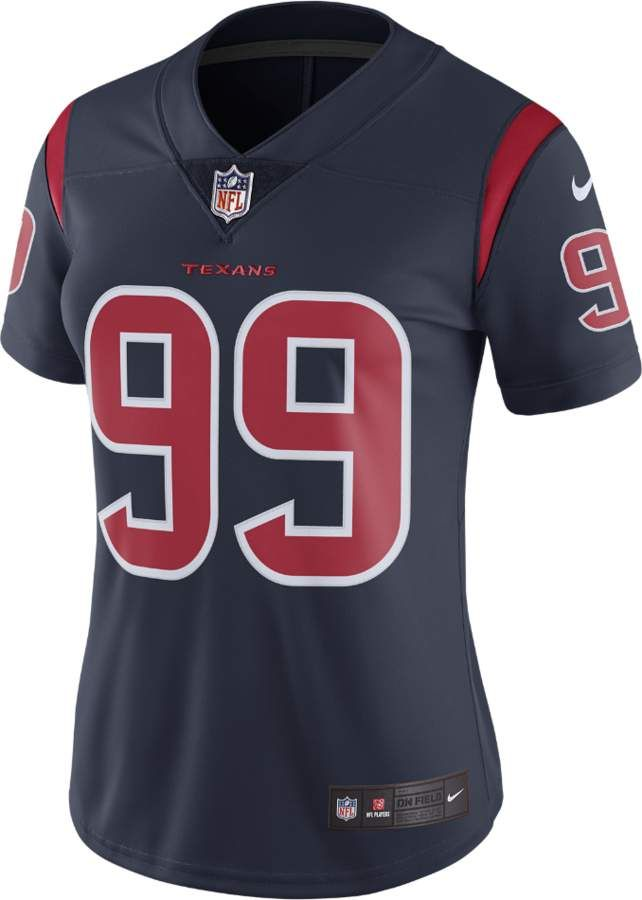 Nike NFL Houston Texans Color Rush Limited Jersey (J.J. Watt) Women s  Football Jersey 841cfb2ad