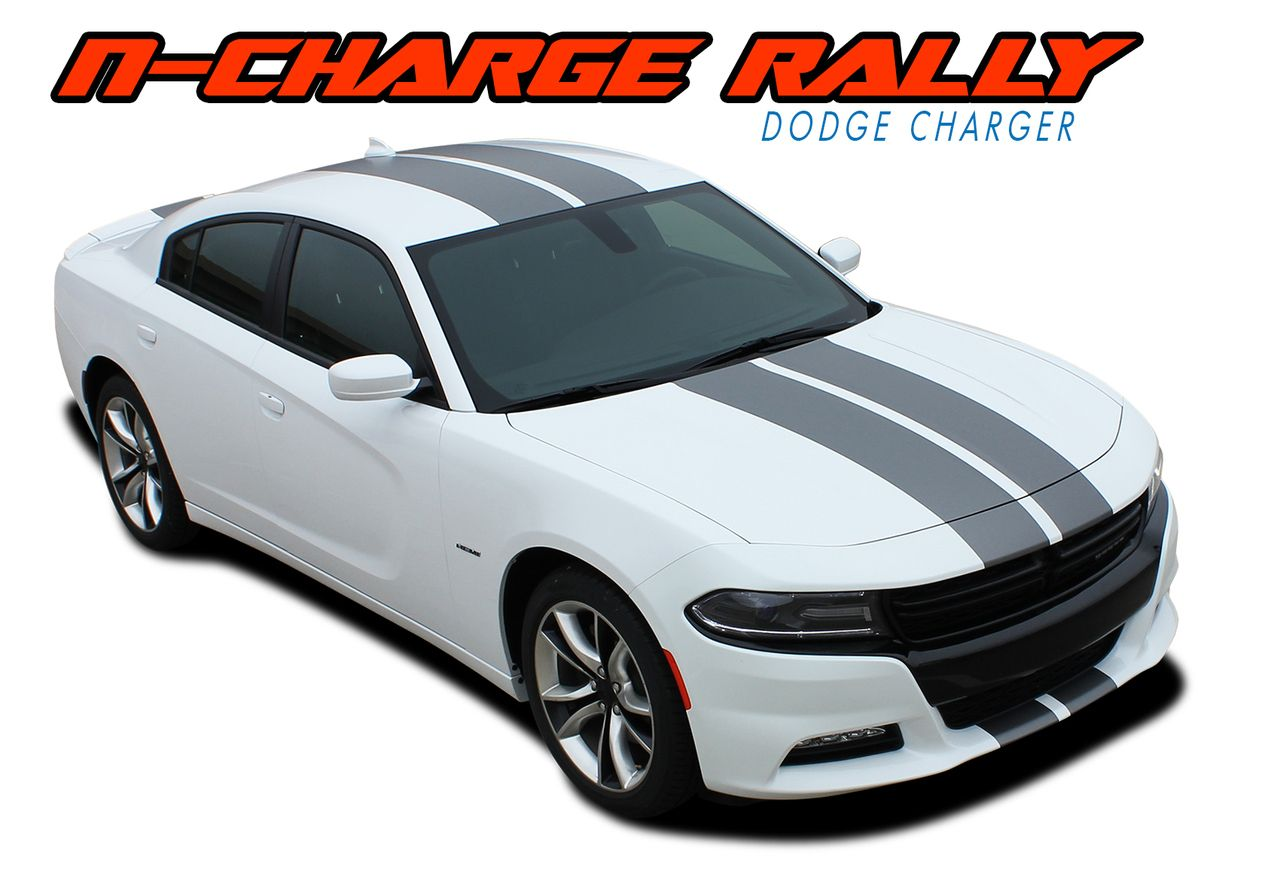 2015 2016 2017 2018 dodge charger factory n charge rally style vinyl graphics
