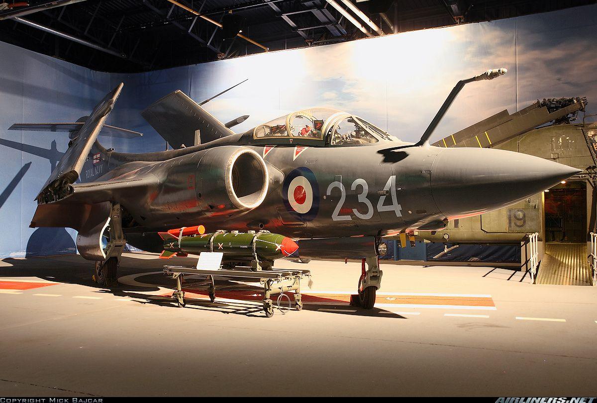 Hawker Siddeley Buccaneer S2B UK Navy Aviation Photo