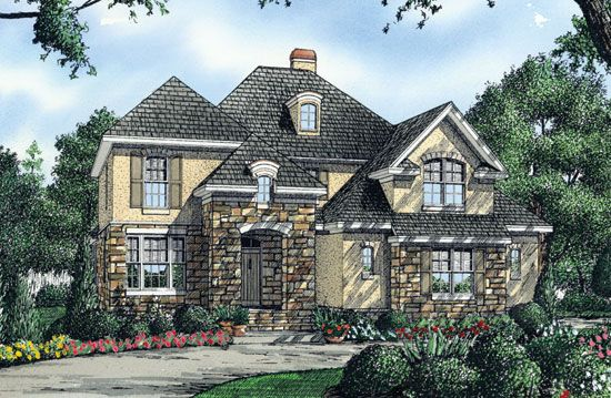 Default Image of The Carmine - House Plan Number 1215