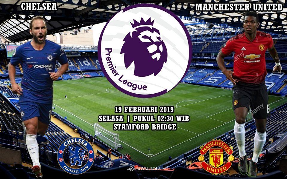 Agen Maxbet Chelsea vs Manchester United 19 Februari 2019