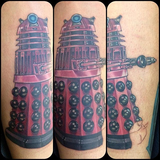 Finally Got To Do A Little More Time On Jess' Dr. Who