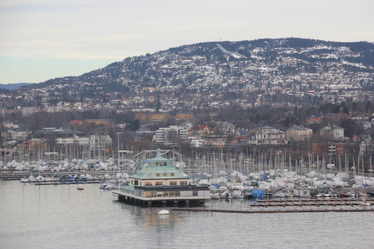Mit Dem Schiff Durch Den Oslofjord In Norwegen Norwegen Oslo Fjord