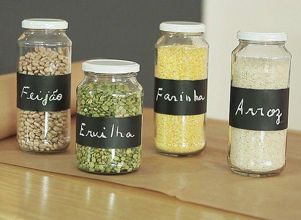 Resultado de imagem para reutilizar vidros de conserva cozinha