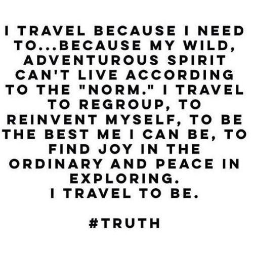 Enough said. #quote #travelquote #wanderlust #traveladdict...  Instagram travelquote