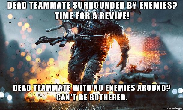 Scumbag Battlefield Medic Battlefield 4, Games