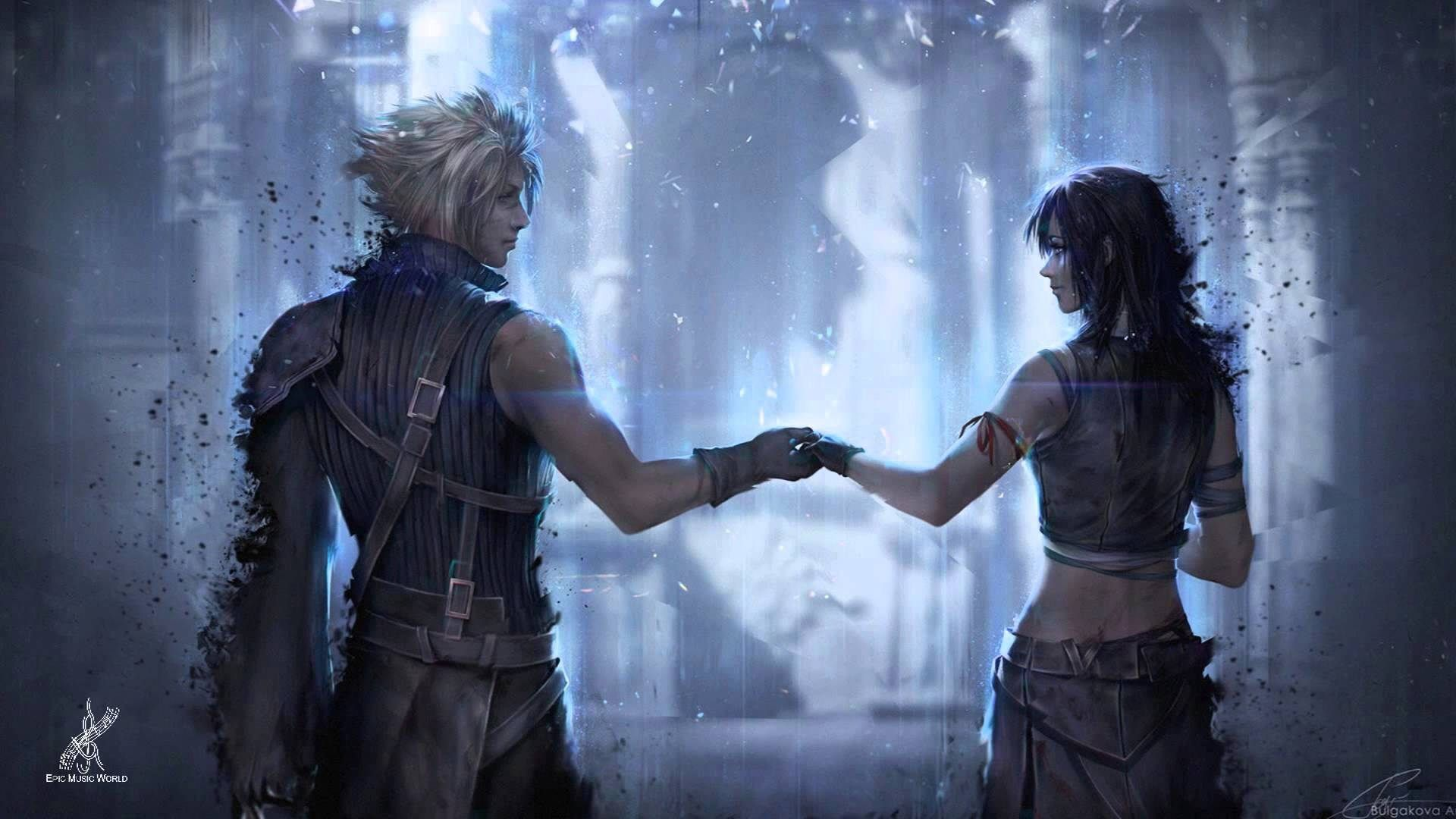 Cloud And Tifa Final Fantasy Game Wallpaper 1920x1080 Need