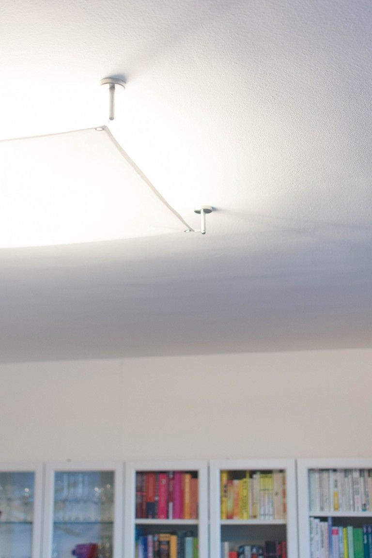 Diy Segellampe Selber Machen Lichtsegel Lampen Lampe Selber Bauen