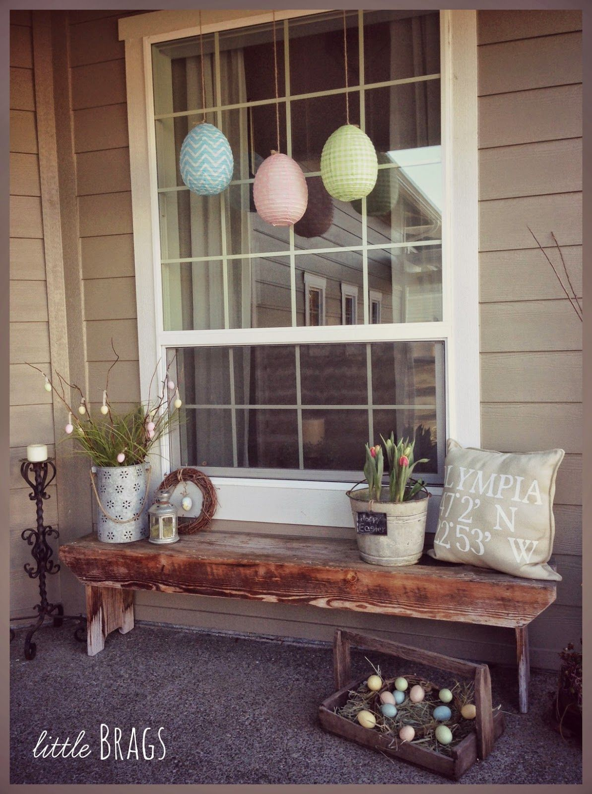 Great Ideas -- 20 Outdoor DIY Projects! -   21 long porch decor