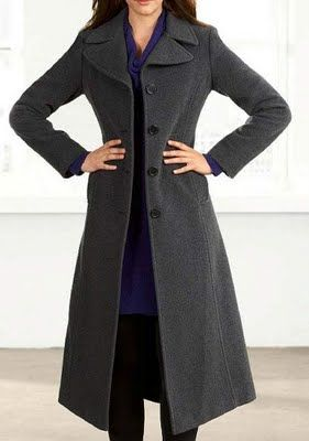 DKNY long wool coat | Coats | Pinterest | Long wool coat, Wool ...