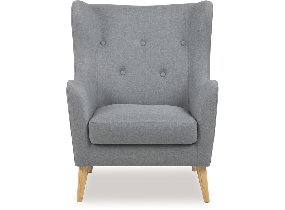 Kamma Chair from Danske Mobler - a comfy grey occasional chair to ...