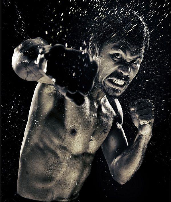 Boxeo - Manni Pacquiao - Howard Schatz