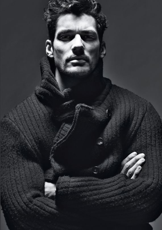 the winter rug-up look \\ David Gandy