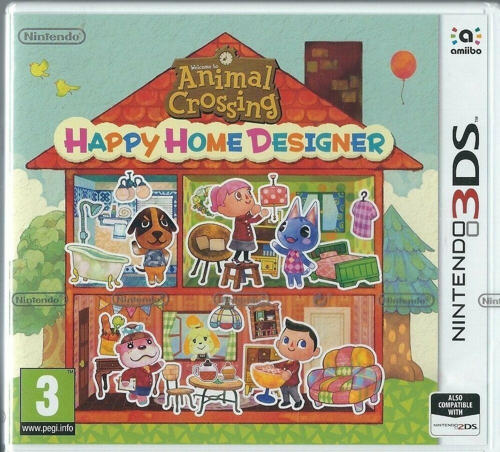 Animal Crossing Happy Home Designer 3ds Game Nintendo 3ds Brand