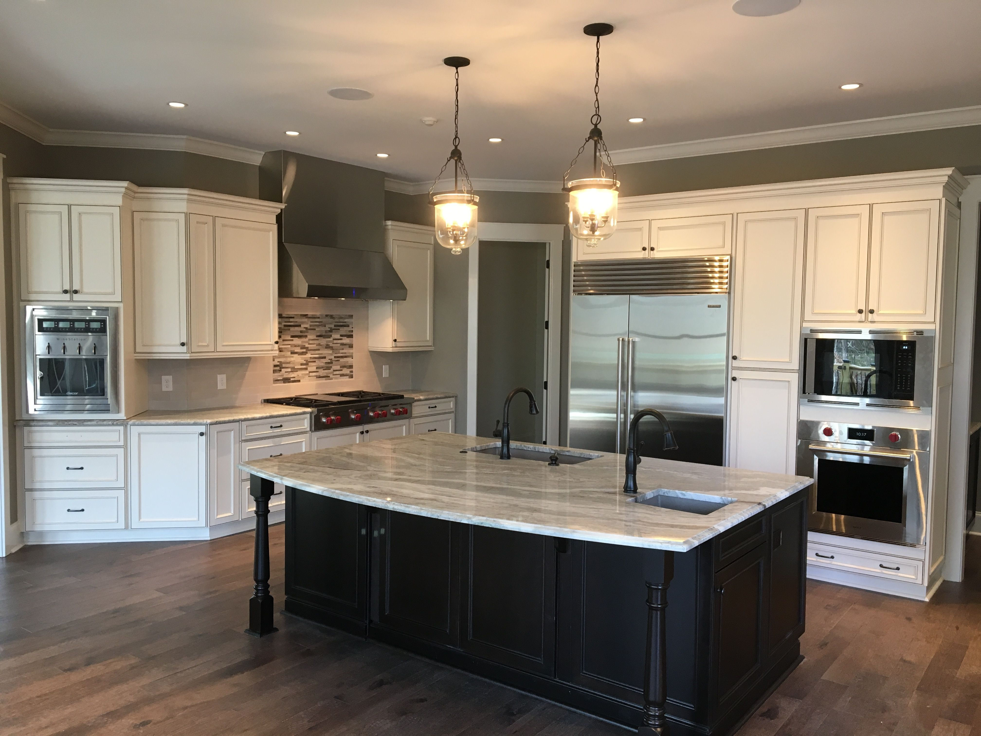 amazing kitchen with wolf sub zero appliances and a wine station sub zero appliances cool on kitchen remodel sub zero id=19148