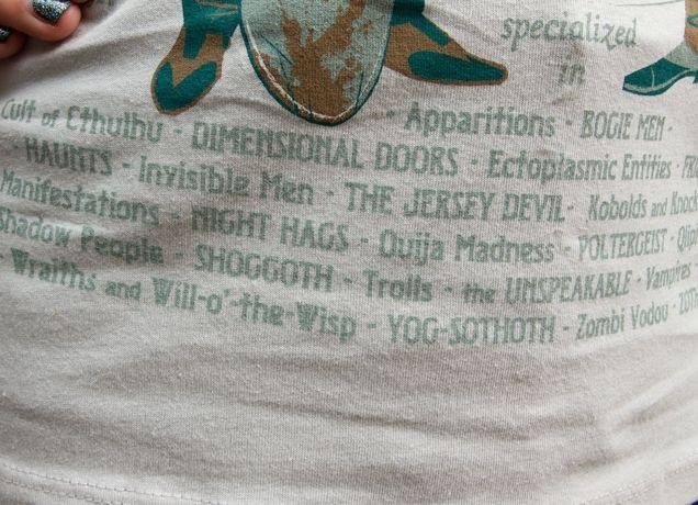 Lovecraft/Tesla shirt from Threadless.com