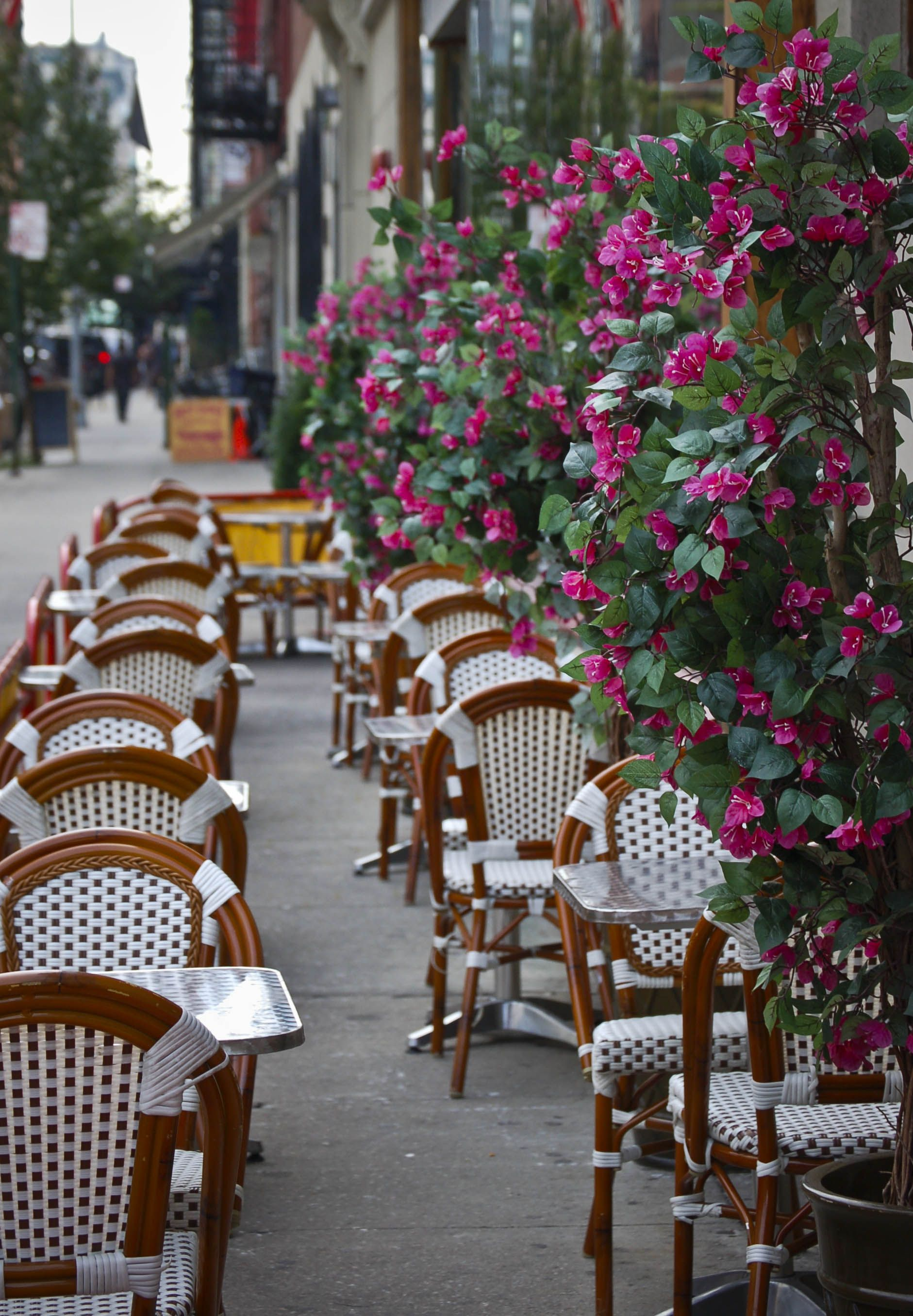 paris bistro chairs outdoor chair covers direct from china parisian space efficient seating
