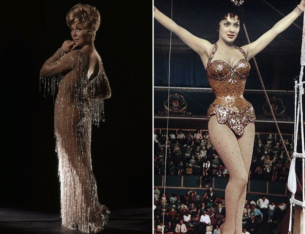20 vintage showgirl costumes that will you away