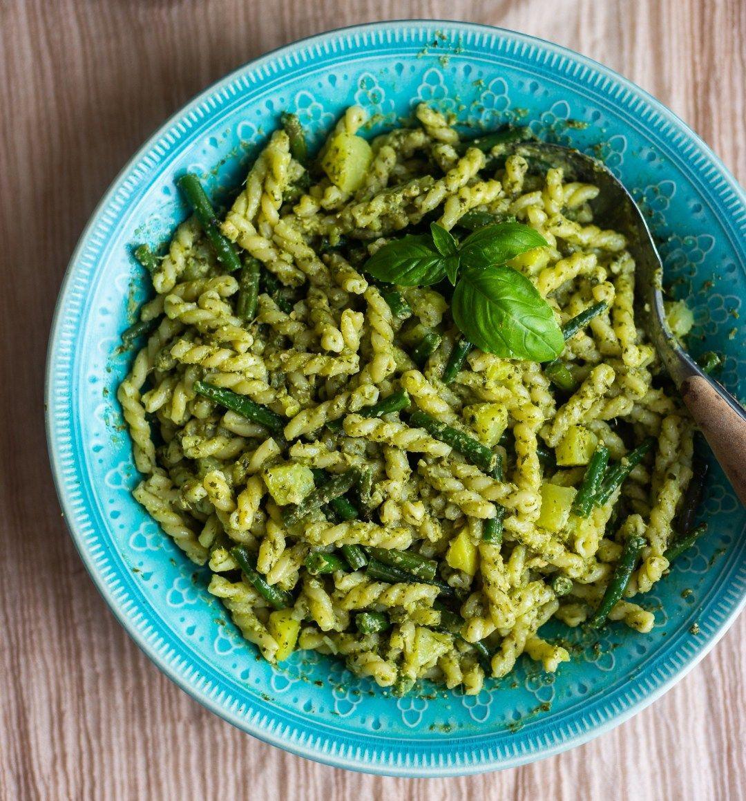 Pasta Pesto Med Kyckling Pesto Kyckling Pesto Pasta