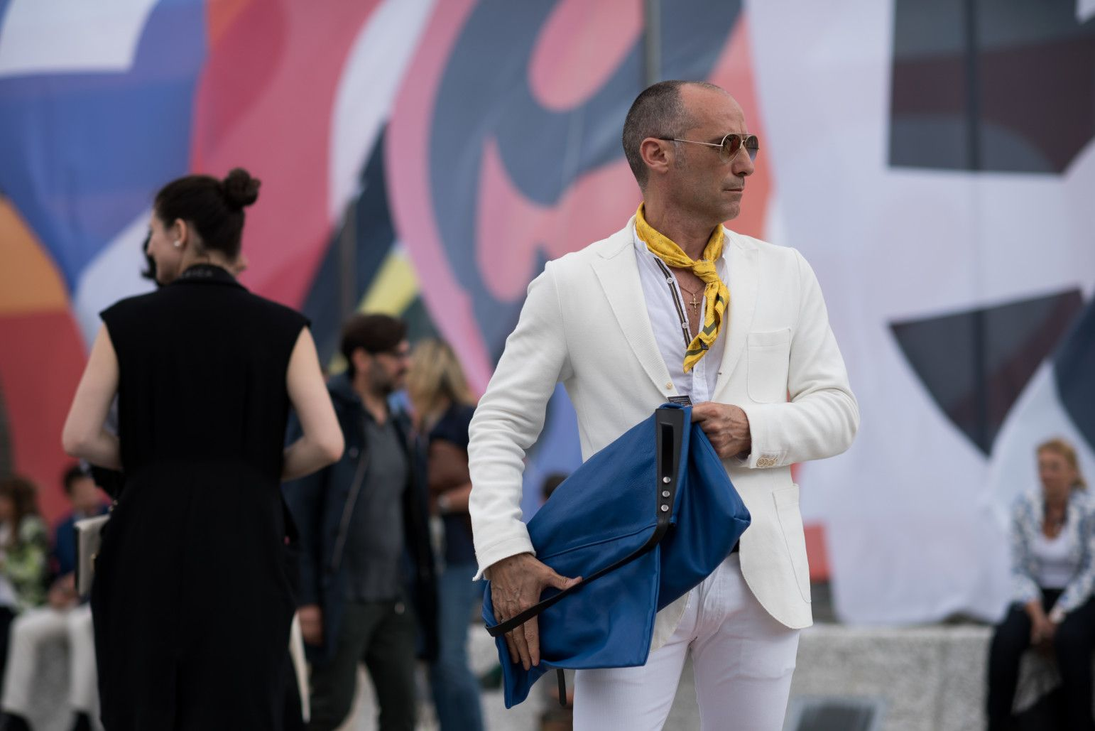 All the Best Street Style from Pitti Uomo Spring 2017, Day 1 - -Wmag. June 2016.