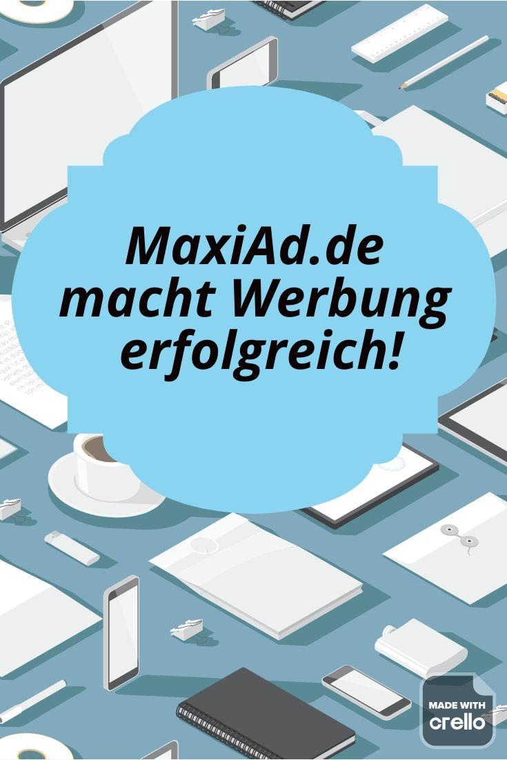 Mit MaxiAd.de werben und Geld verdienen | Geld verdienen ...
