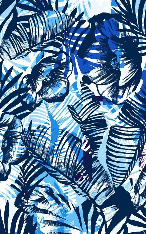 sharmila cr ations vendredi d co design graphique tropical pattern pinterest deco. Black Bedroom Furniture Sets. Home Design Ideas