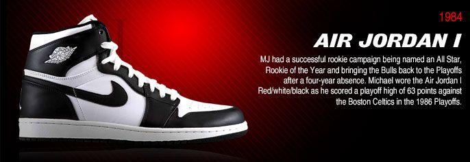 air jordan shoe brand history