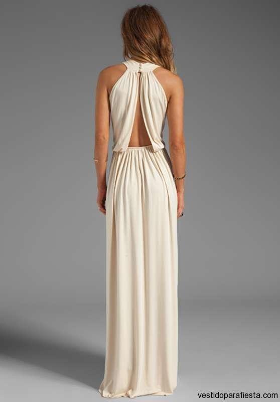 a020691900 Elegantes y modernos vestidos largos de fiesta con escote en la espalda –  14