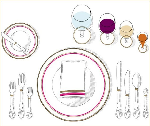 When Hosting A Formal Dinner Party Ensure That Each Piece Is Properly Placed Bon Ee Etiquette Diy Entertaining Ideas Pinterest