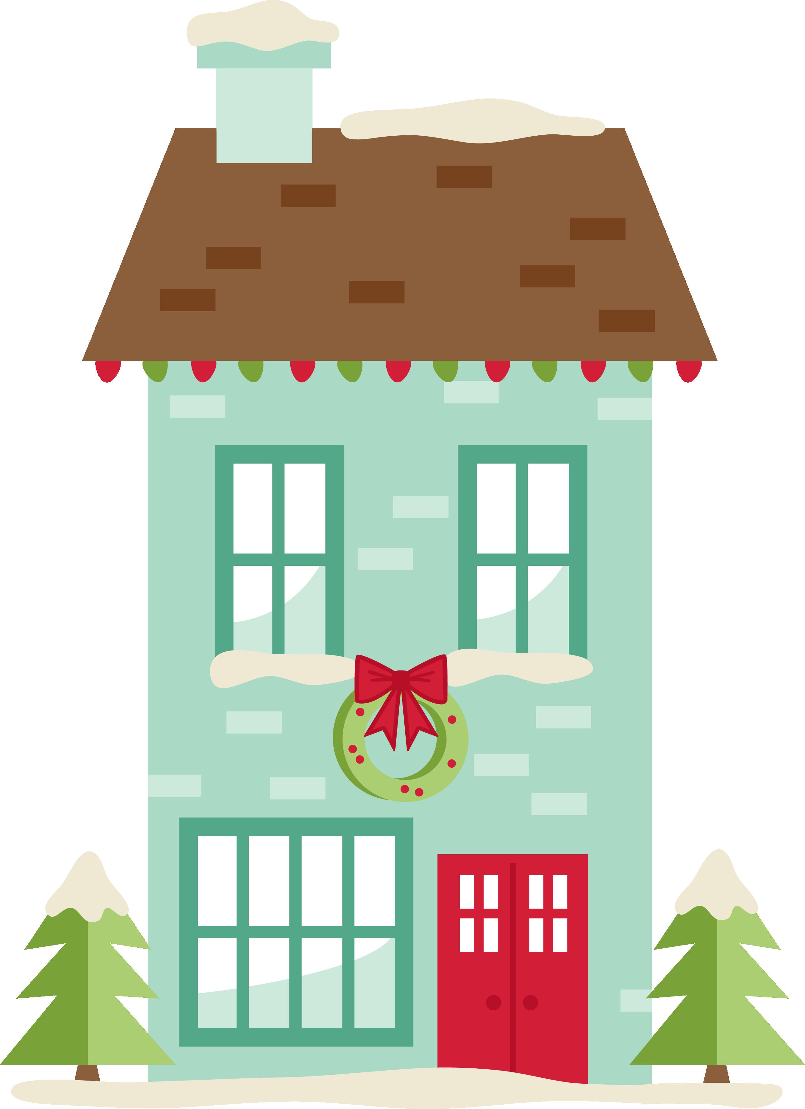 MKC_Christmas House SVG Christmas house, House