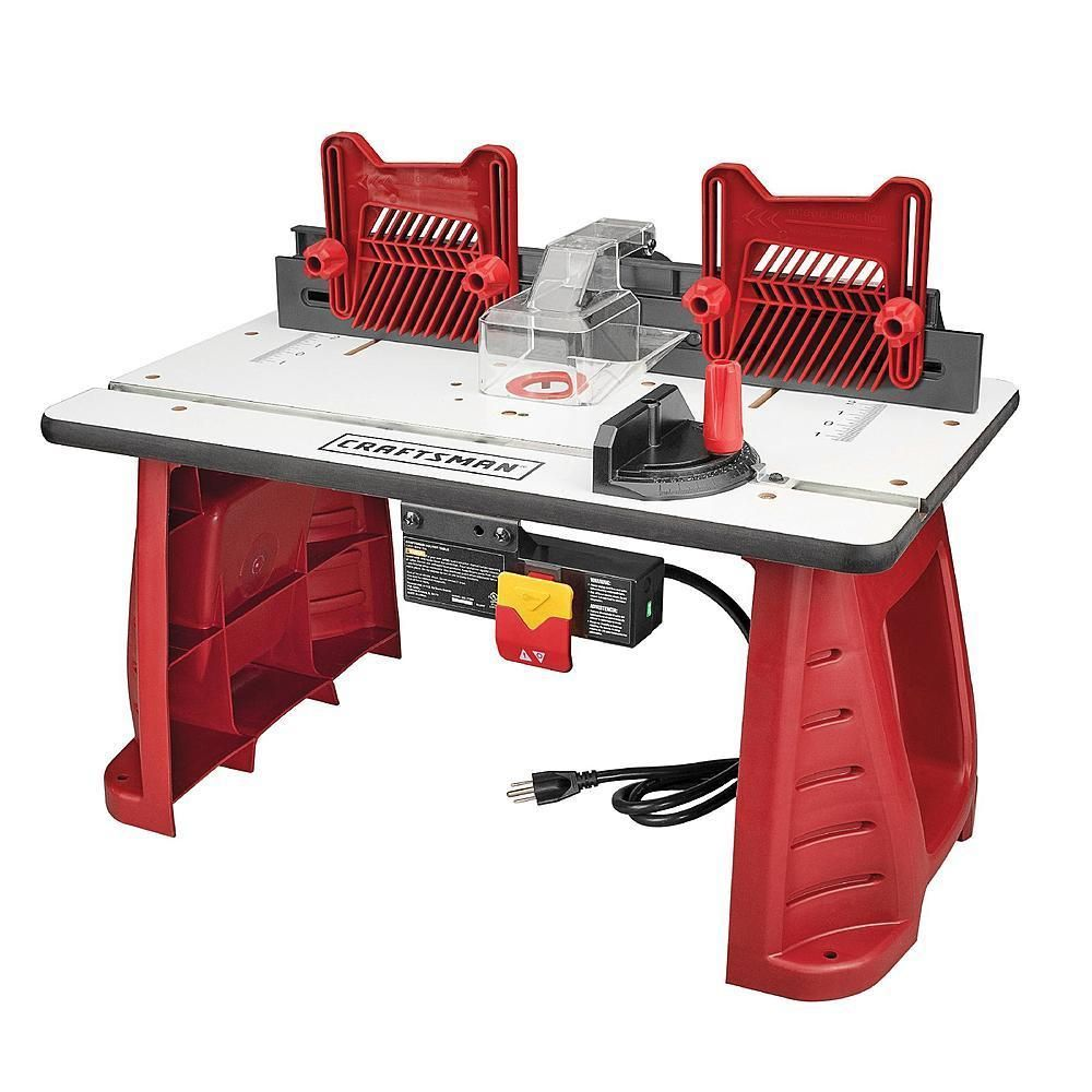 Tools 40 102 promax cast iron router table extension free shipping - Router Tables 75680 Craftsman Router Table Home Garage Professional Workshop No Tax Free Shipping